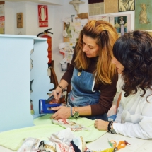 Curso de manualidades de muebles en Madrid