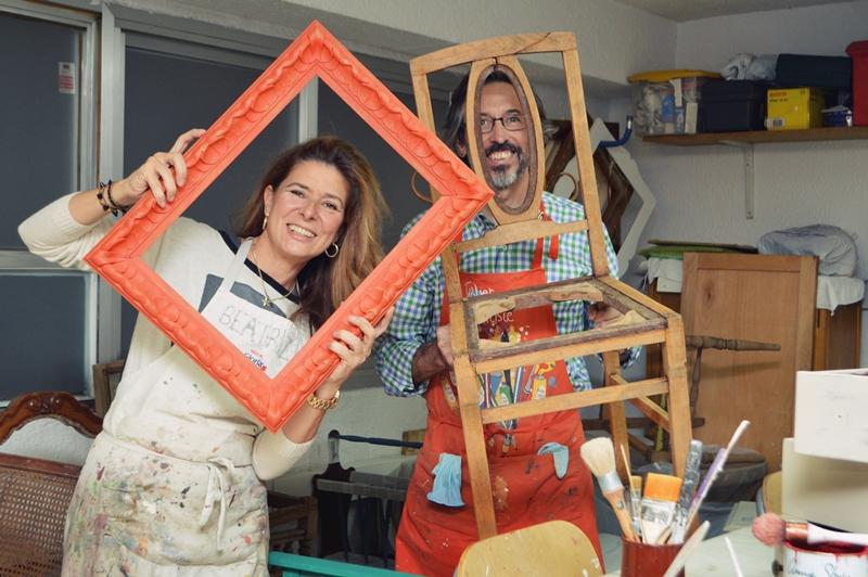 Curso de restauración de muebles Madrid