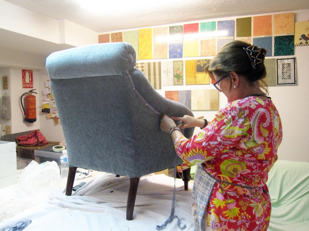 Cursos de tapizado de muebles