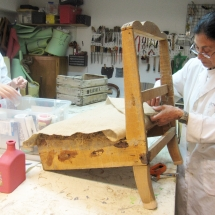 Curso de tapicería de muebles en Madrid