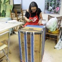 Curso de manualidades con muebles