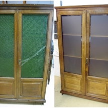antes y después armario castaño restauralo