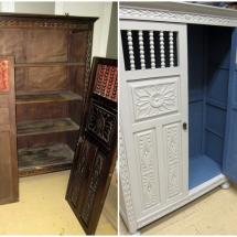 antes y después armario castellano restauralo